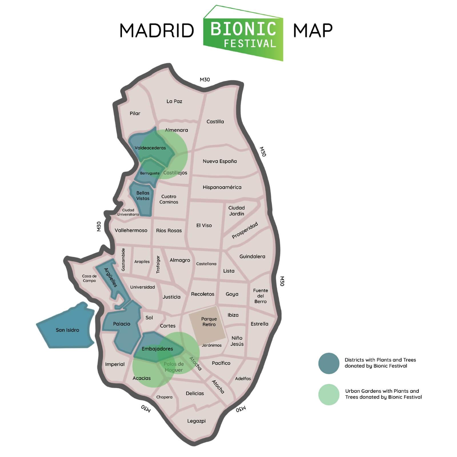 Madrid Bionic Festival Map 2021 Min